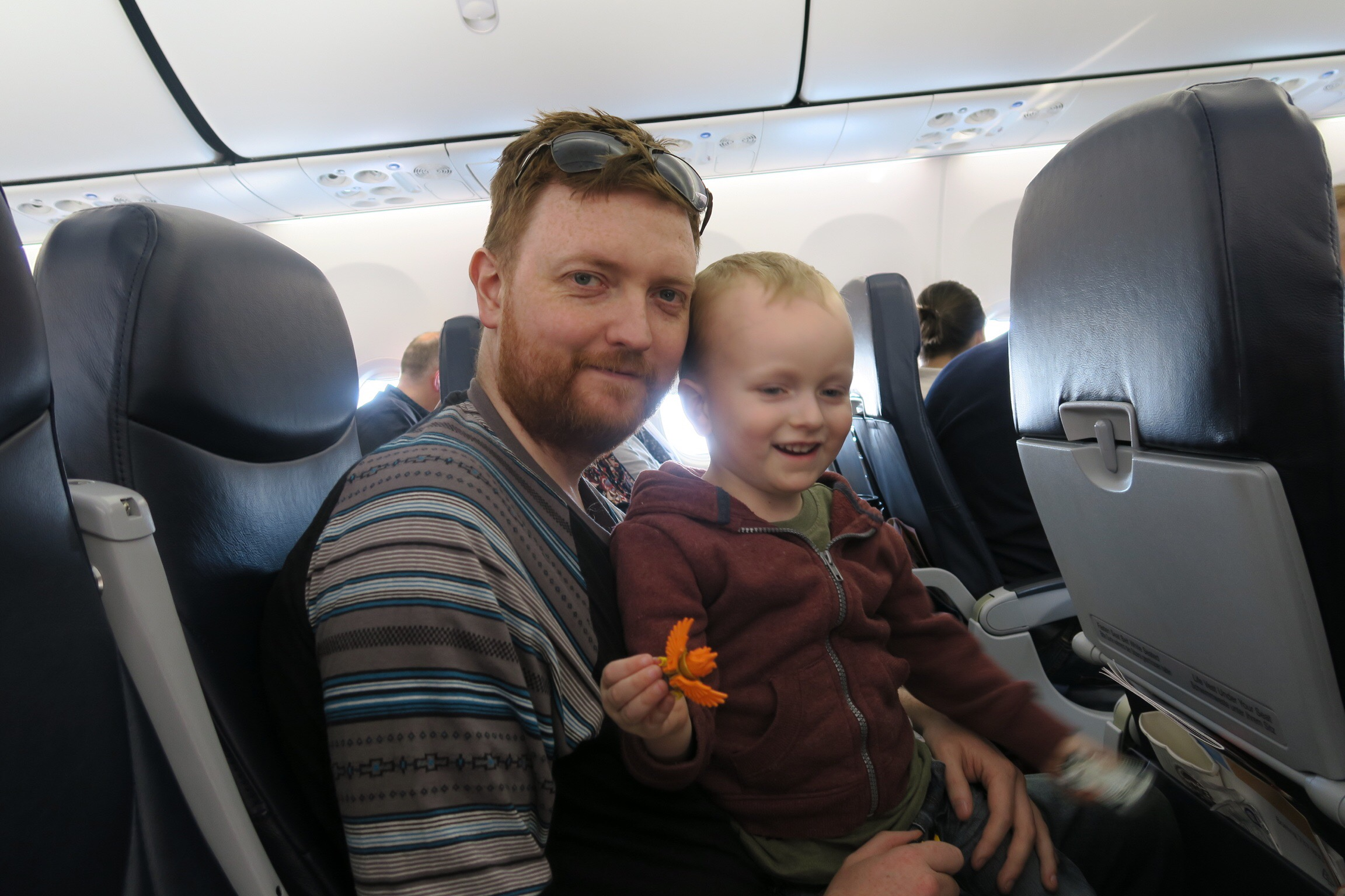 Top ten tips for flying with young kids