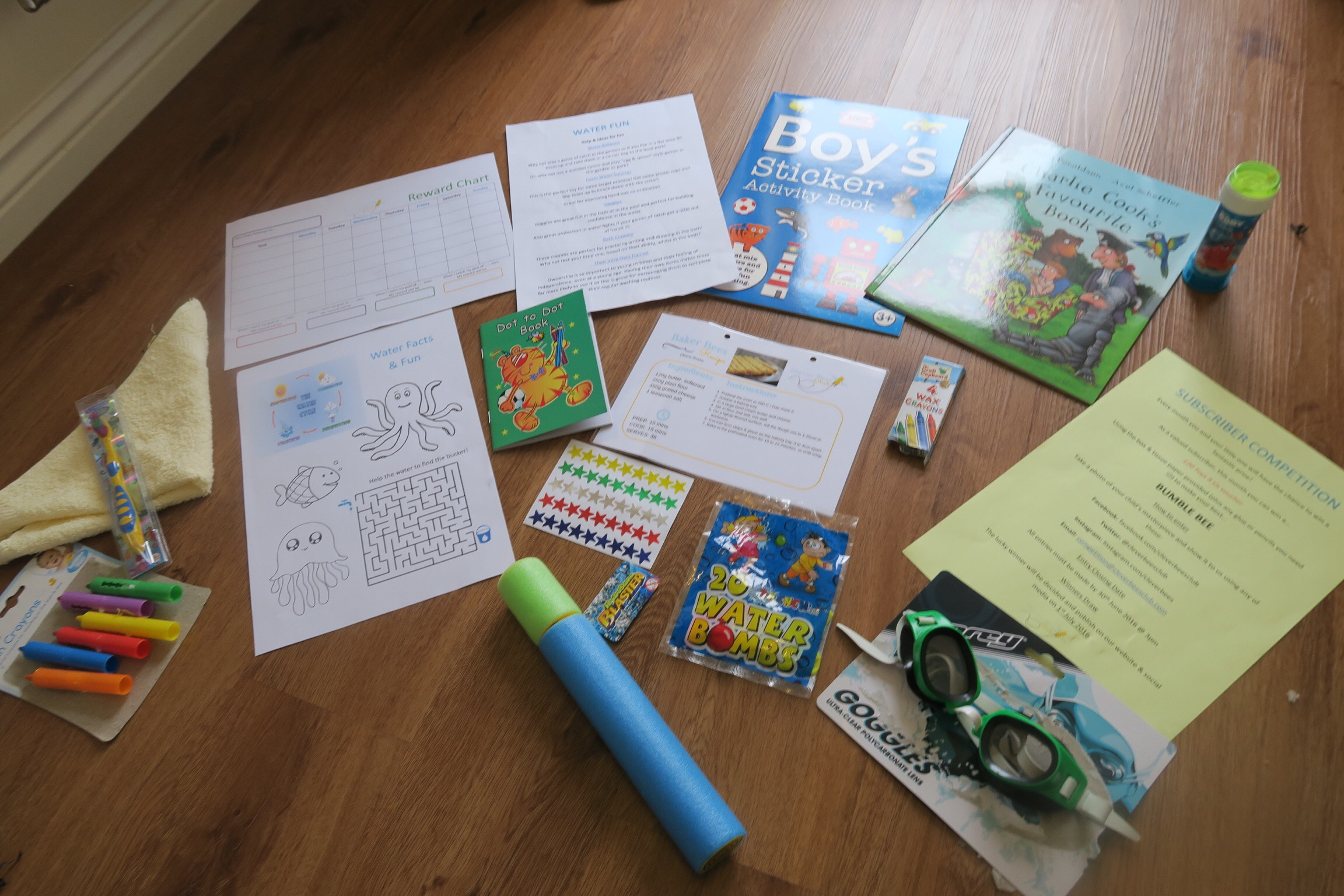 clever bees club review and giveaway