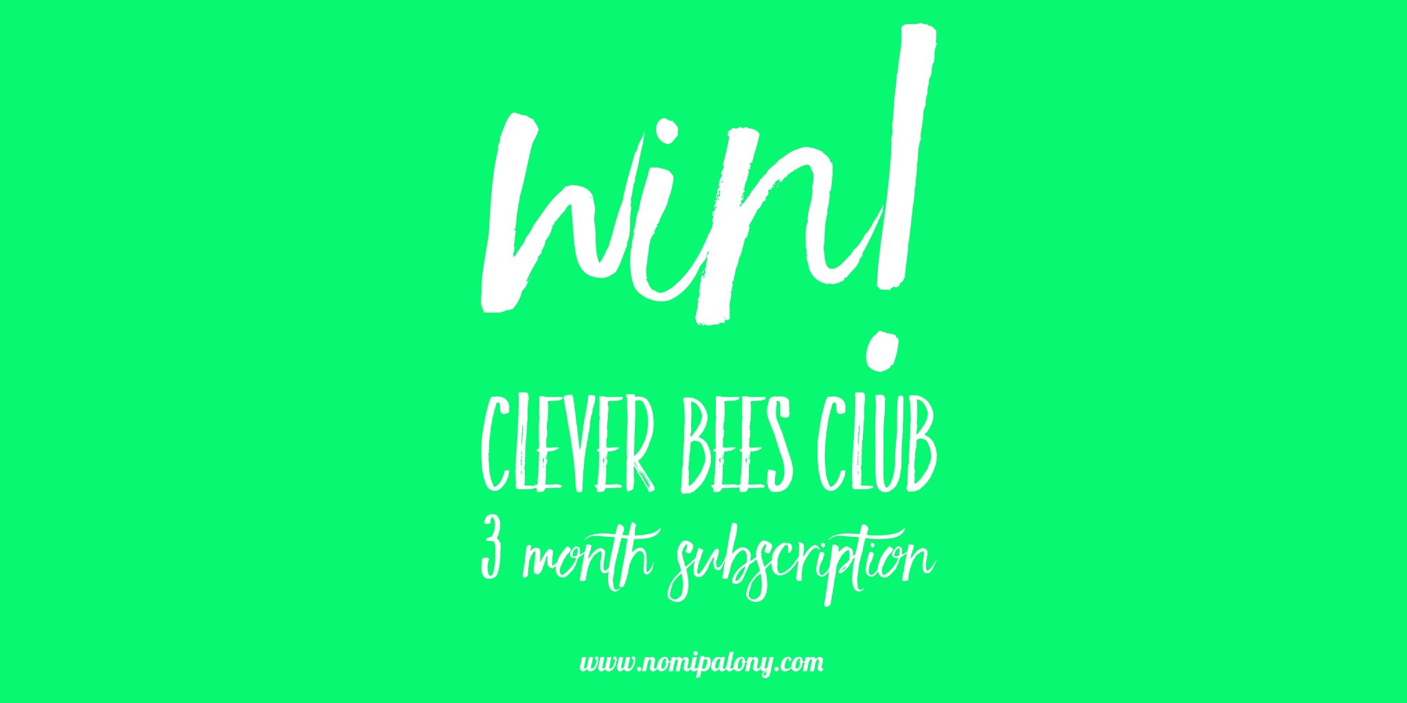 clever bees club review and prize draw