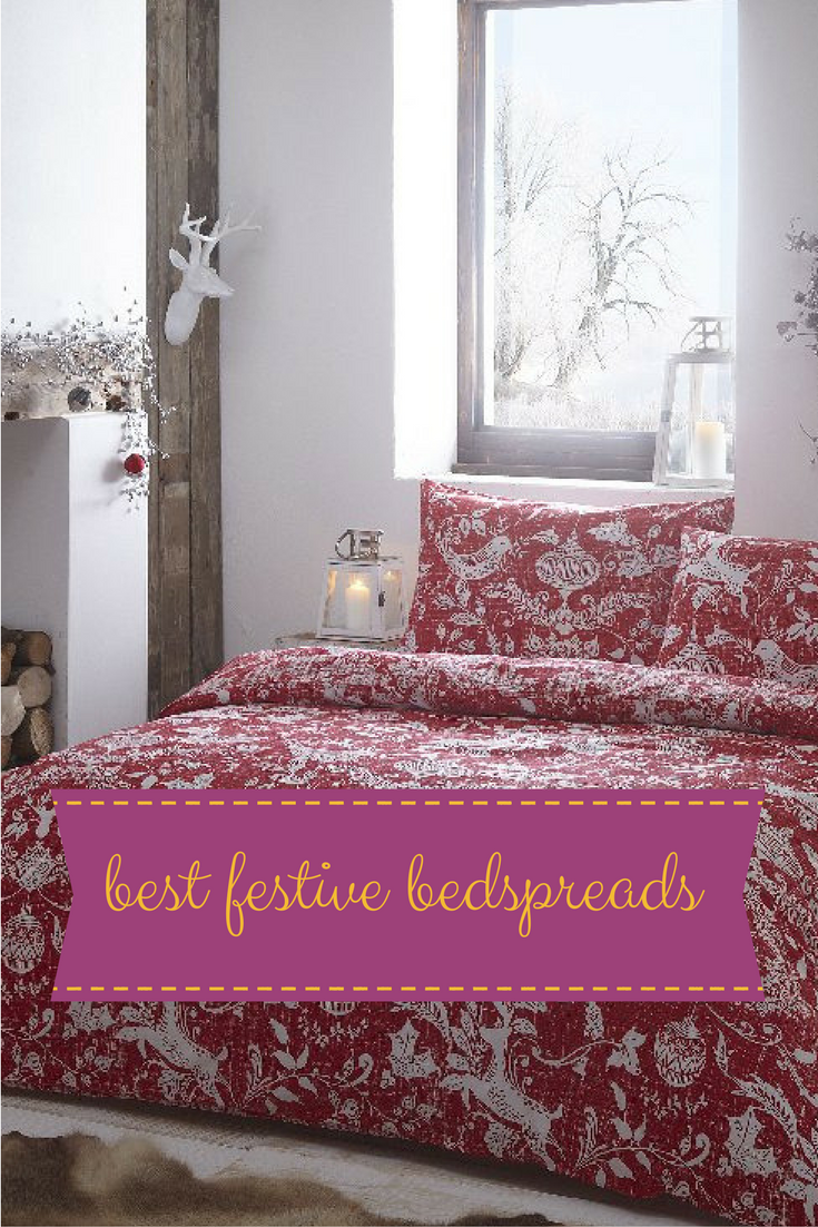 Top 8 Christmas bedspreads