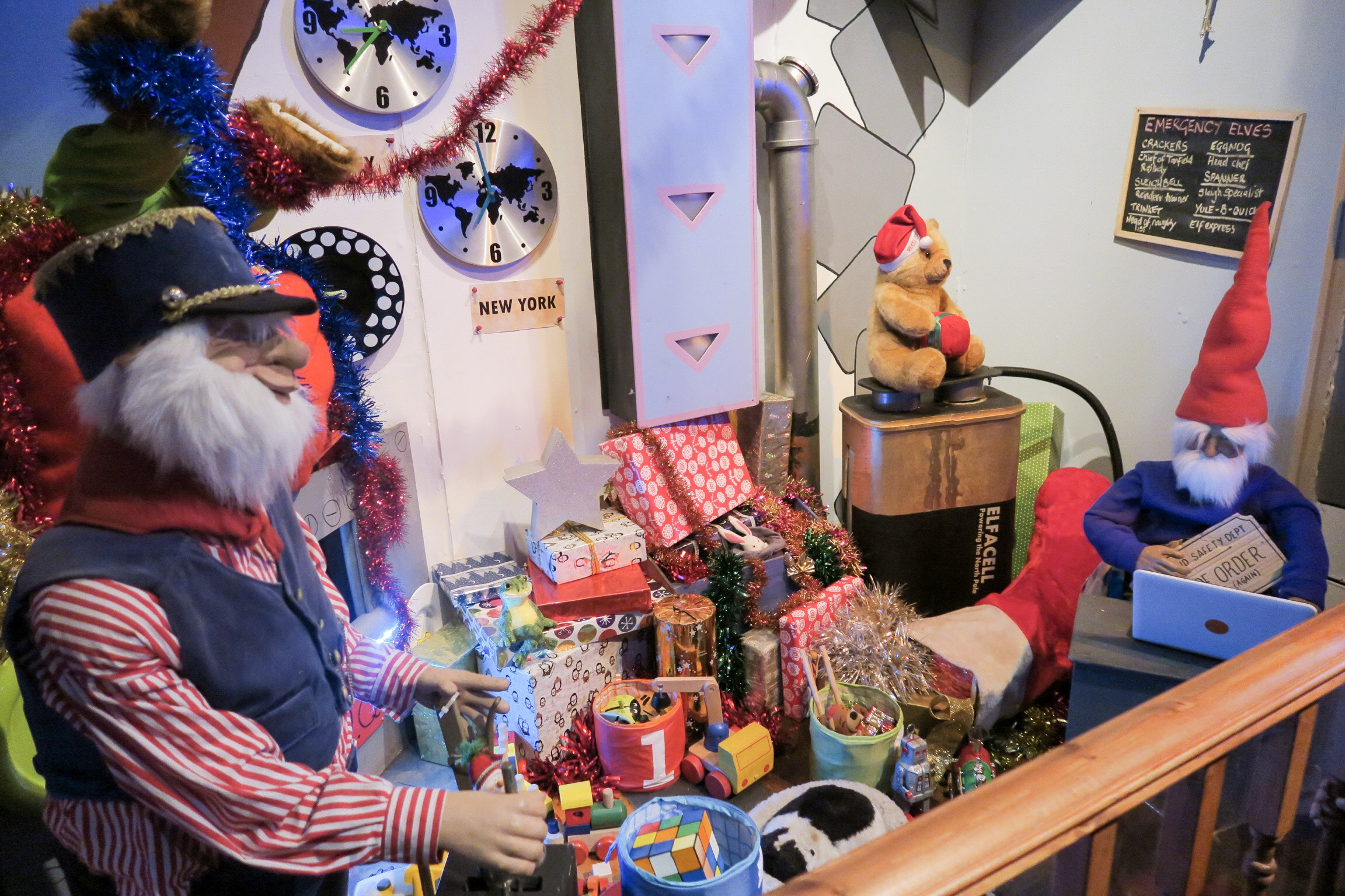 Review of Tanfield Railway's North Pole Express