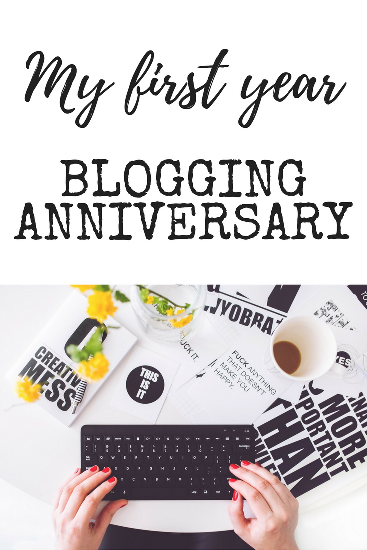My first year blogging anniversary - how did I do and what are my goals for year two