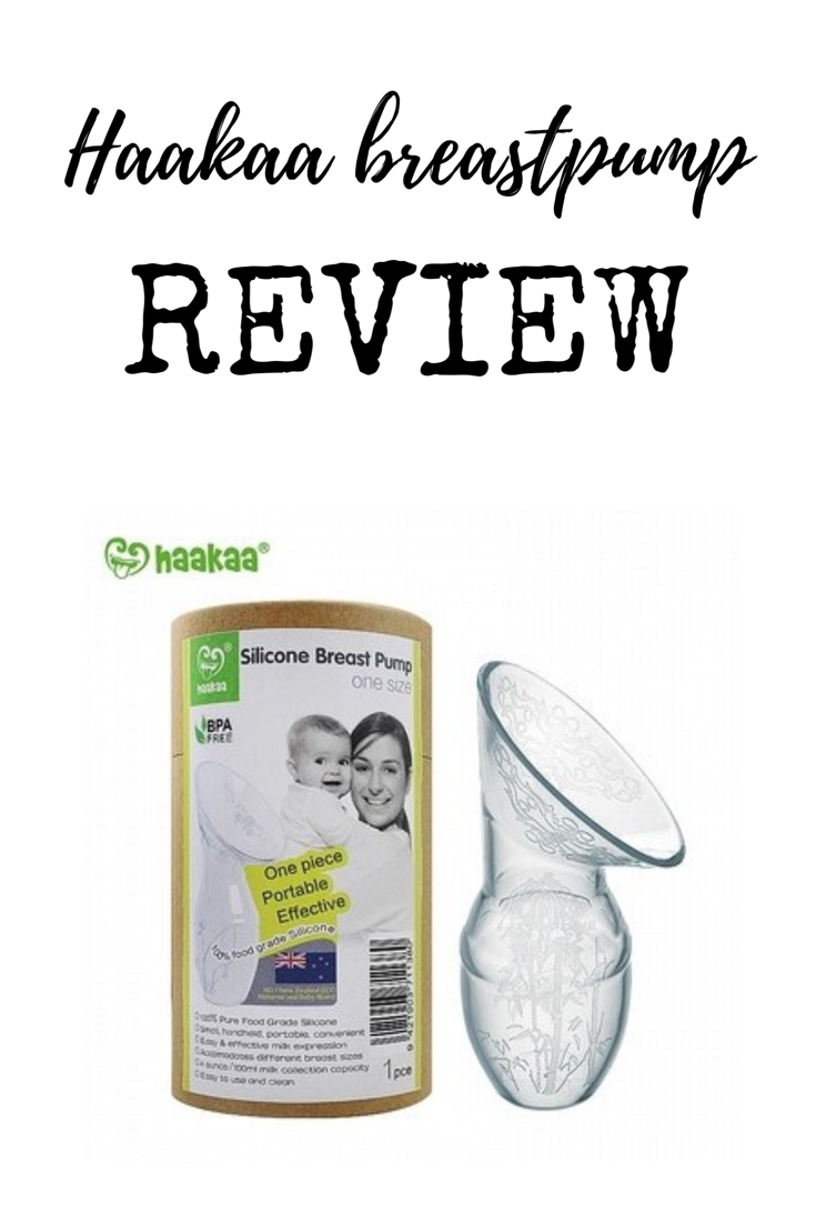 A full and honest review of the Haakaa breast pump including what I liked and didn't like with tips on how you can use it properly.