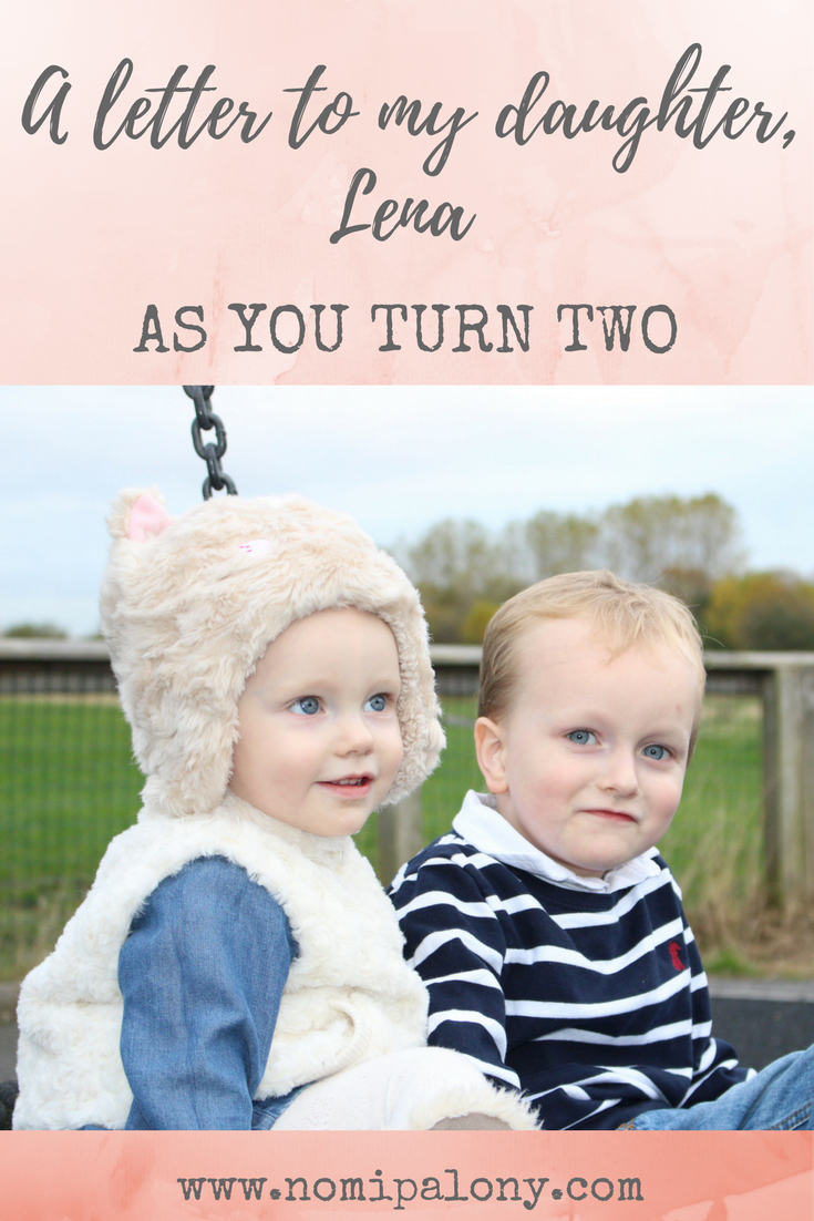 A letter to my baby girl on her second birthday