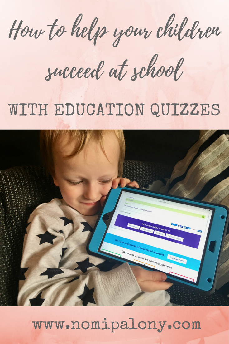 How to help your children succeed at school with Education Quizzes