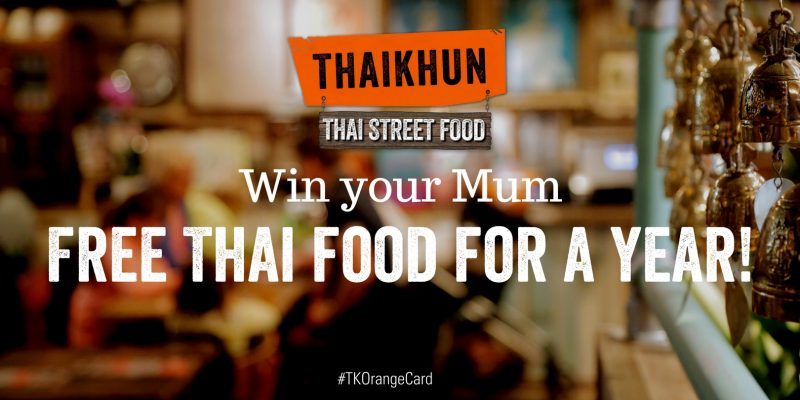 Two fabulous Thaikhun Mother's Day Giveaways
