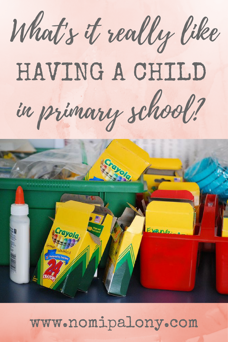 This is helpful - pinning for later. What's it really like having a kid in primary school?