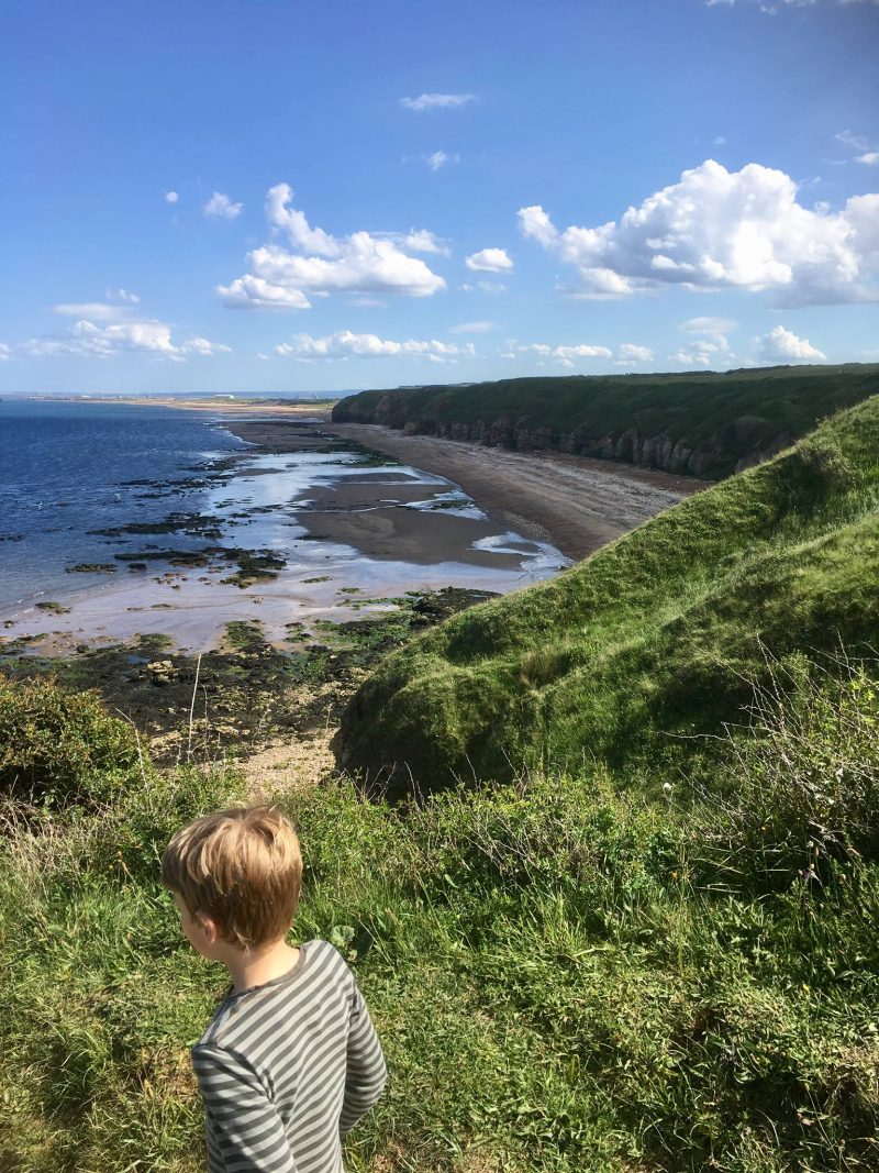 The durham heritage coast from the cliffs