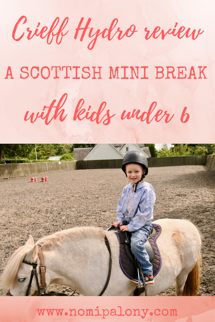 Crieff Hydro review - a Scottish mini break with kids under 6