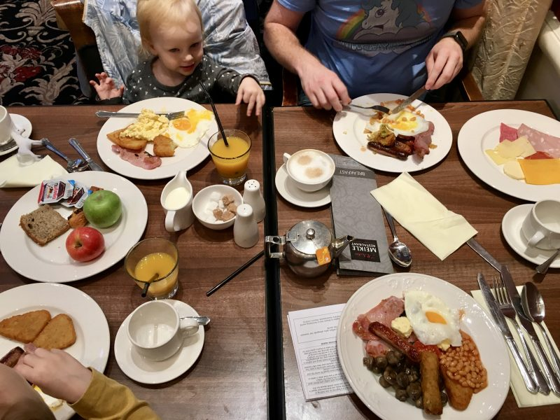 Crieff Hydro review - family trip with kids under 6