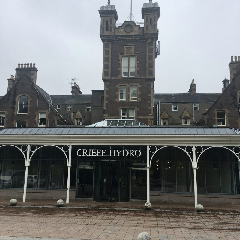 Crieff Hydro review - a mini break with kids under 6