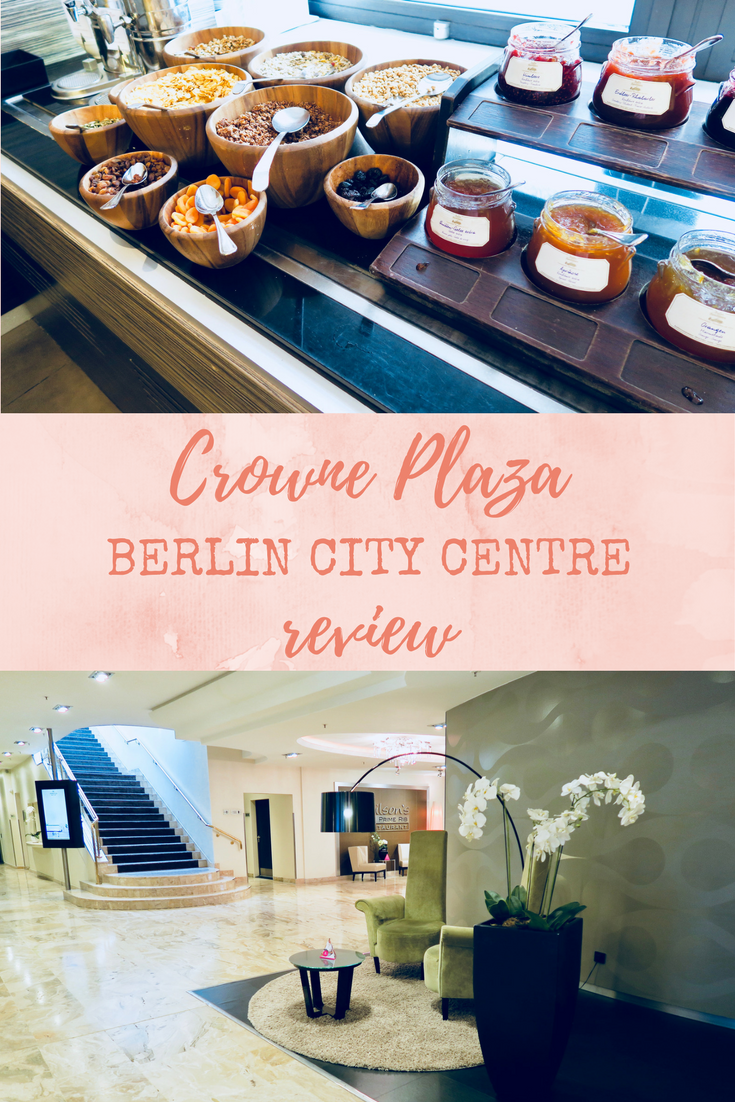Looking for somewhere to stay in central Berlin? Here is a full and thorough review of the Crowne Plaza Berlin City Centre.