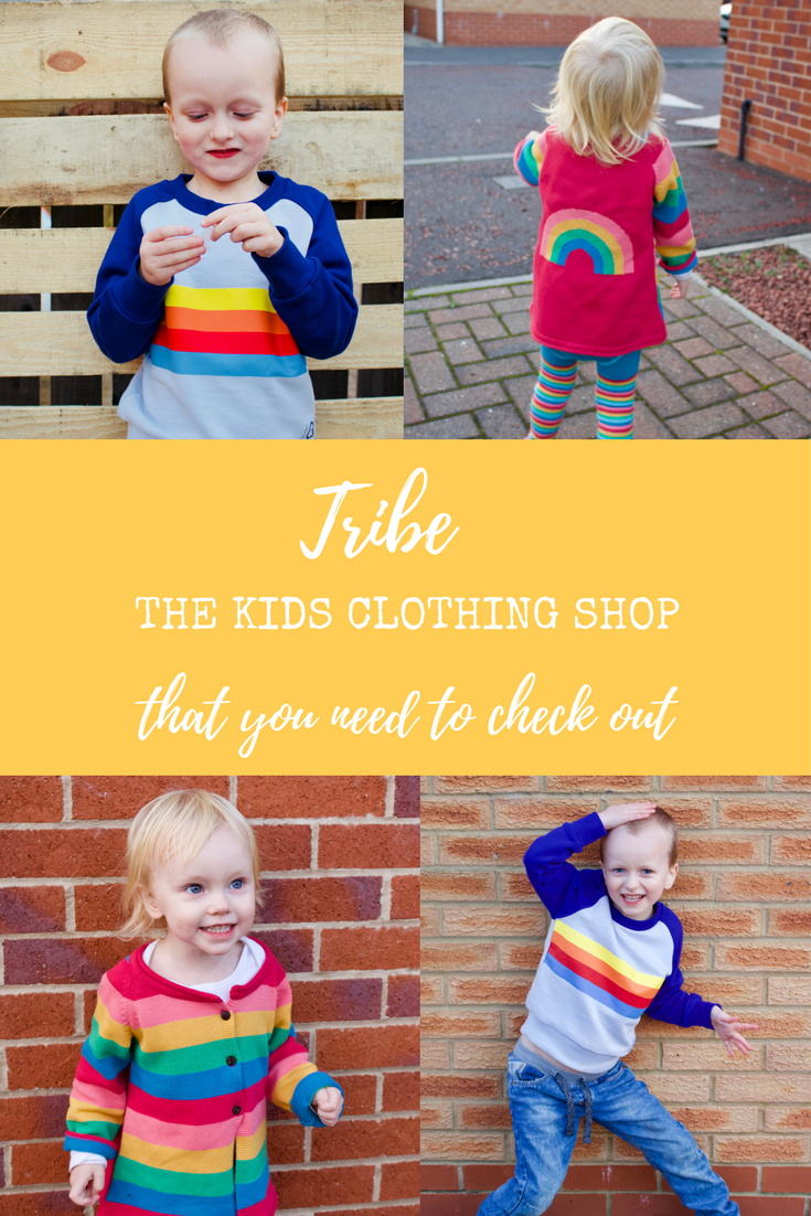 Tribe - ethical and fun children's clothing and gifts. The new shop that you have to check out.
