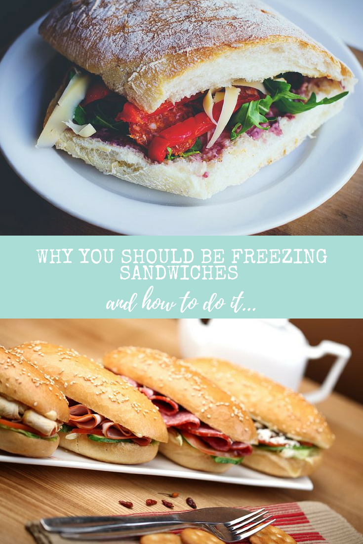 Great idea, saving for later: Why you should be freezing sandwiches and how to do it