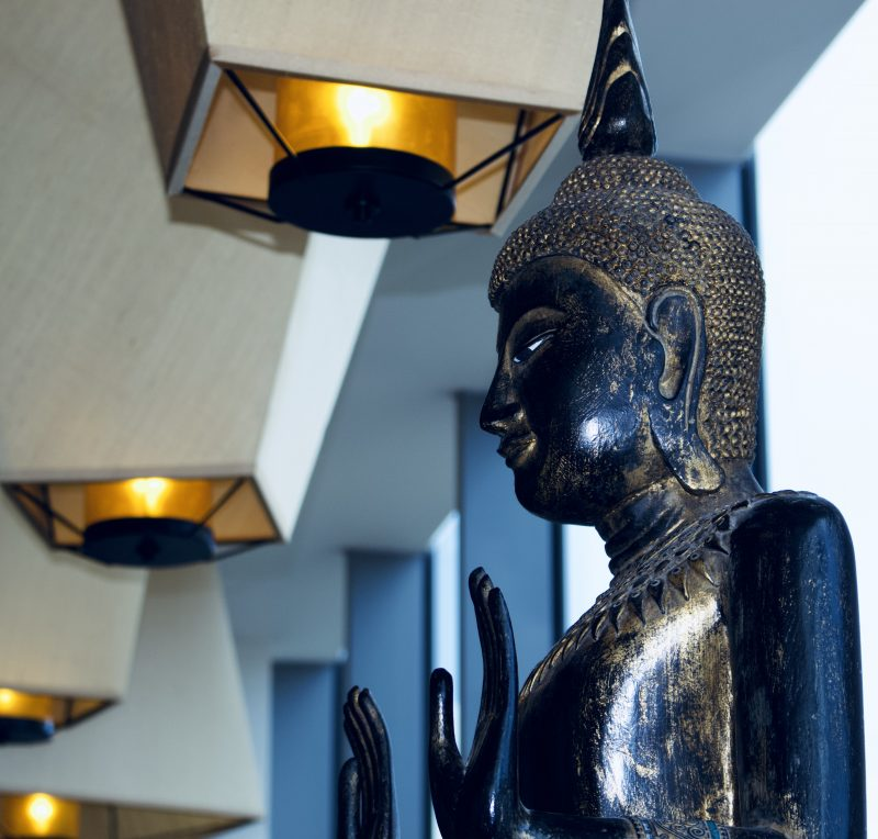 Chaophraya Newcastle review - statue