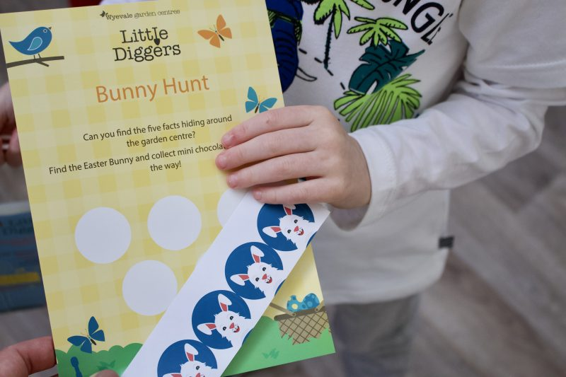 Heighley Gate Breakfast with the Easter Bunny - Bunny Hunt activity sheets