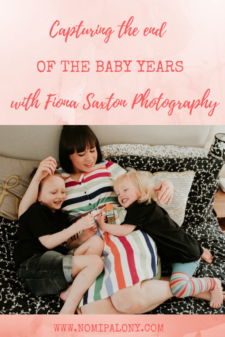 Capturing the end of the baby years with Fiona Saxton Photography