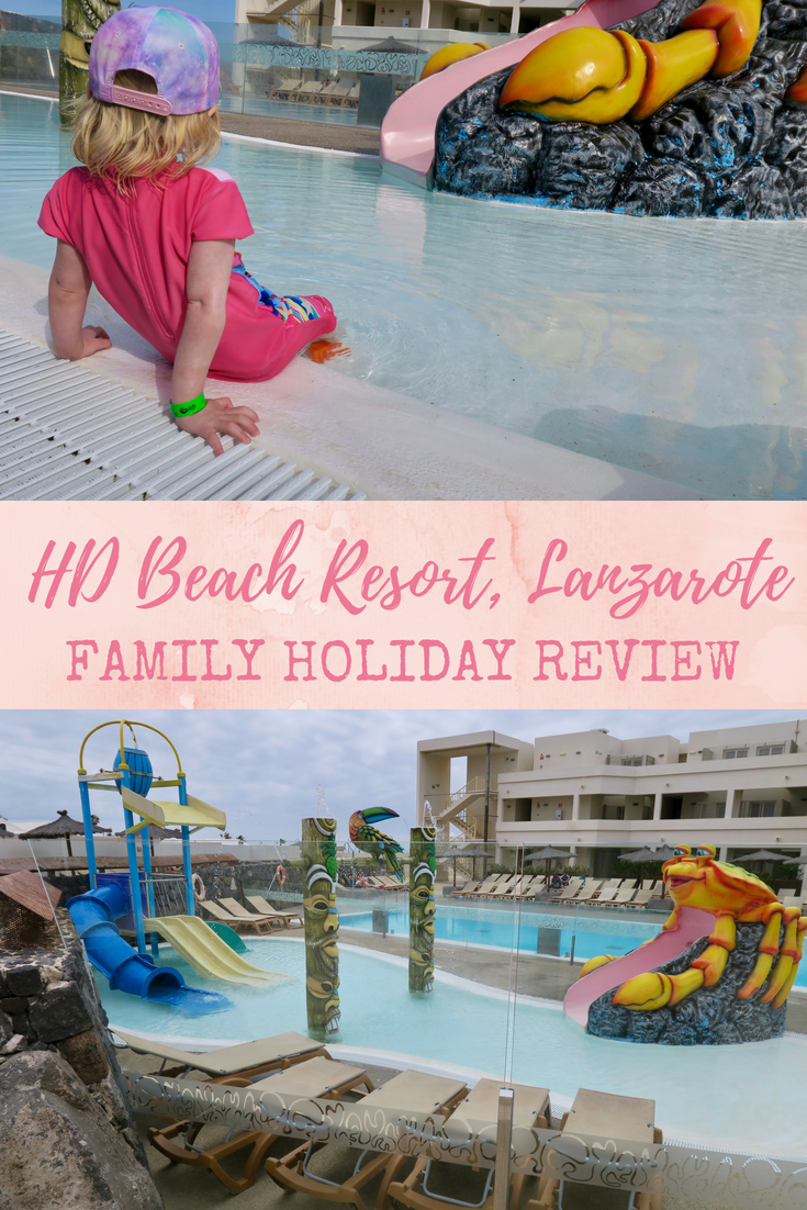 HD beach resort, Costa Teguise, Lanzarote, family holiday review