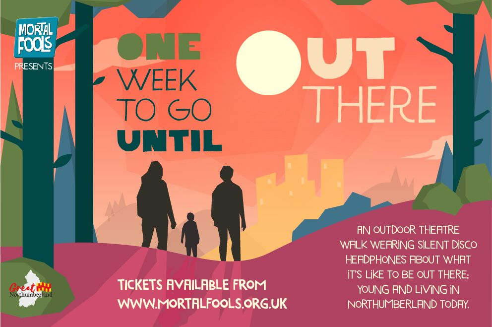 Fantastic free outdoor local theatre production - 'Out There'