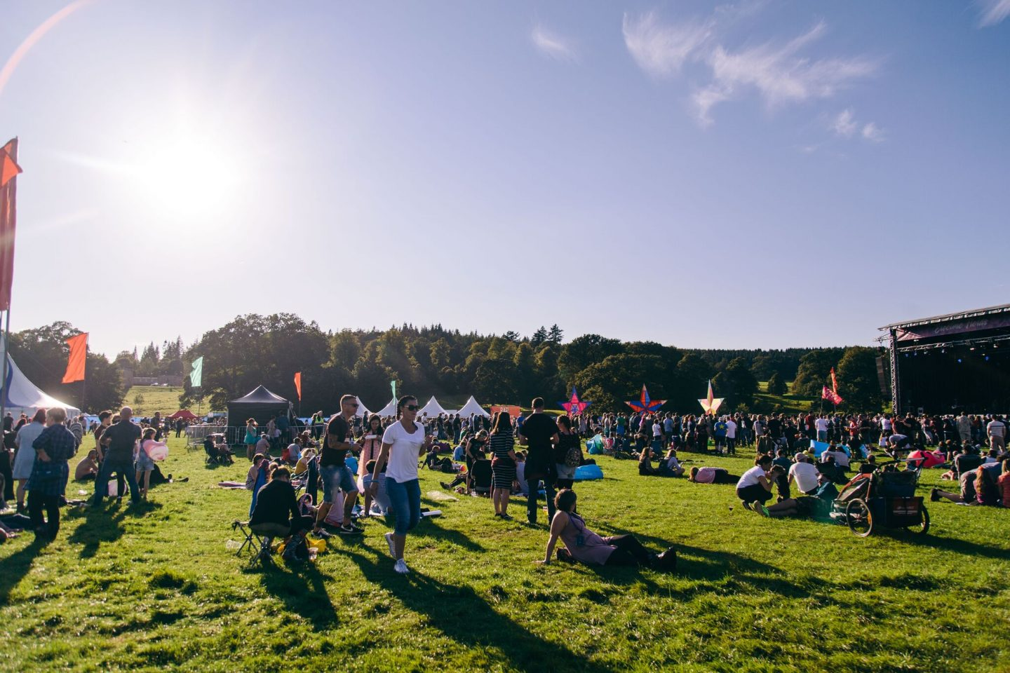 Why I have chosen Electric Fields as the first music festival I will camp at with my family. Plus family ticket giveaway!