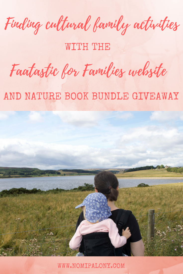 Finding cultural family activities with the Fantastic for Families website. Plus an fab giveaway of a natured themed book collection....