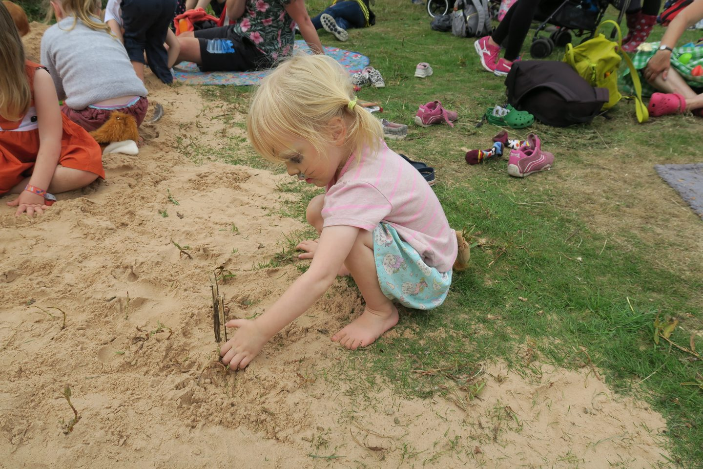 Just So Festival 2018 review and our top tips for Just So Festival - sand pit