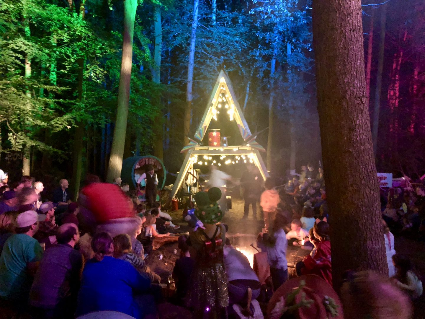 Just So Festival 2018 review and our top tips for Just So Festival - bonfire bands