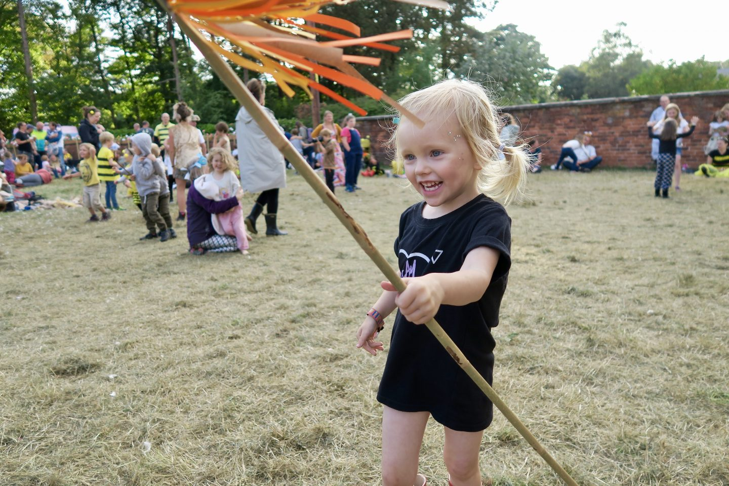 Just So Festival 2018 review and our top tips for Just So Festival - 3 year old happy