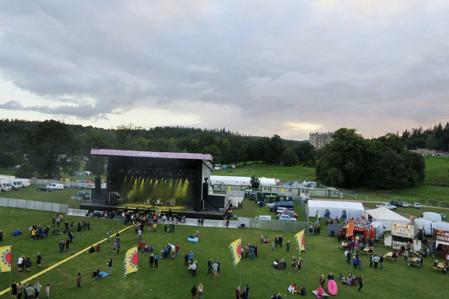 Electric Fields 2018 - review for families