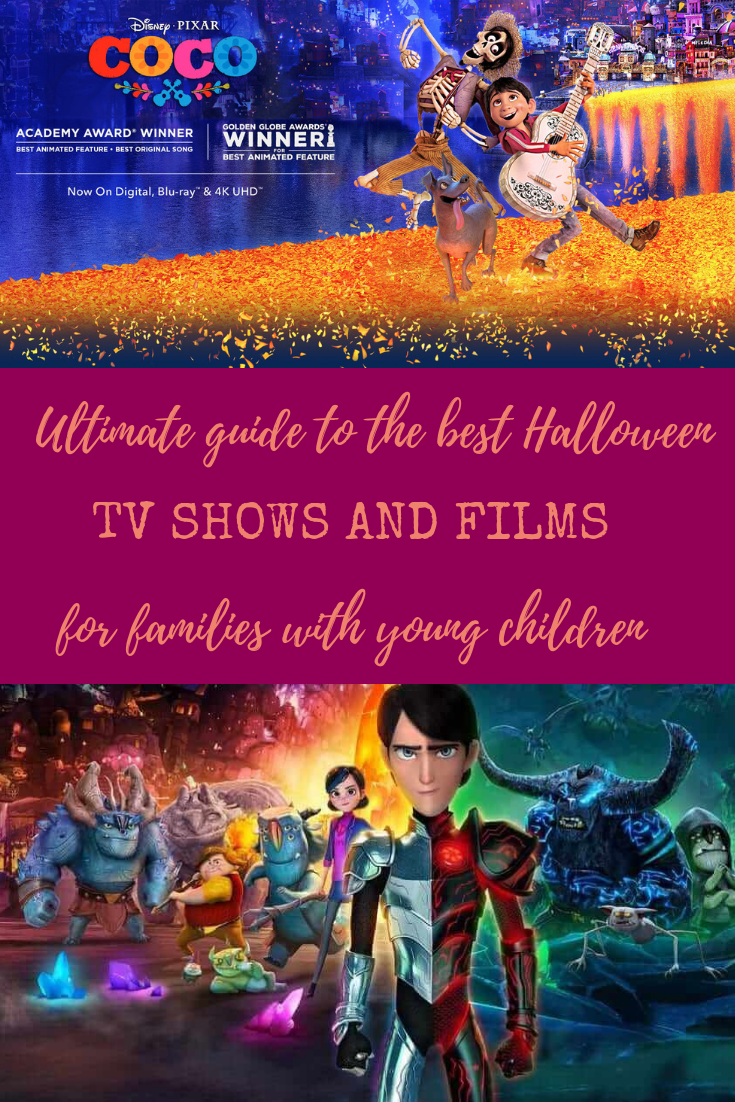 Ultimate guide to the best Halloween TV shows and films for families with young children