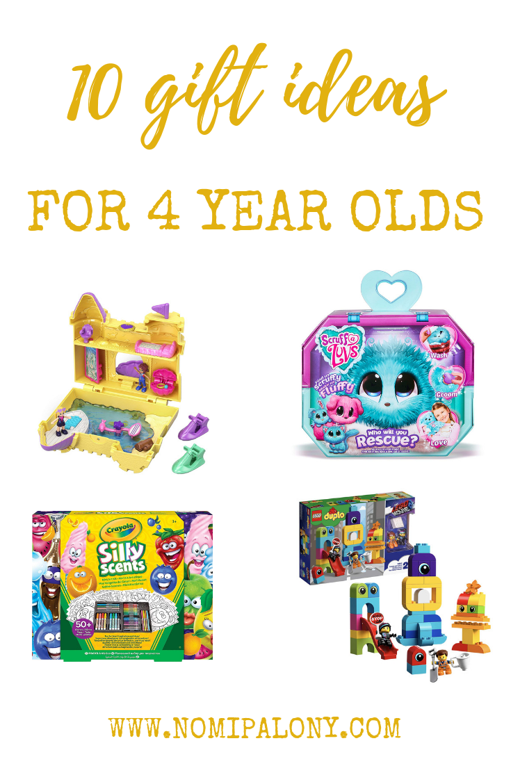 10 gift ideas for 4 year olds