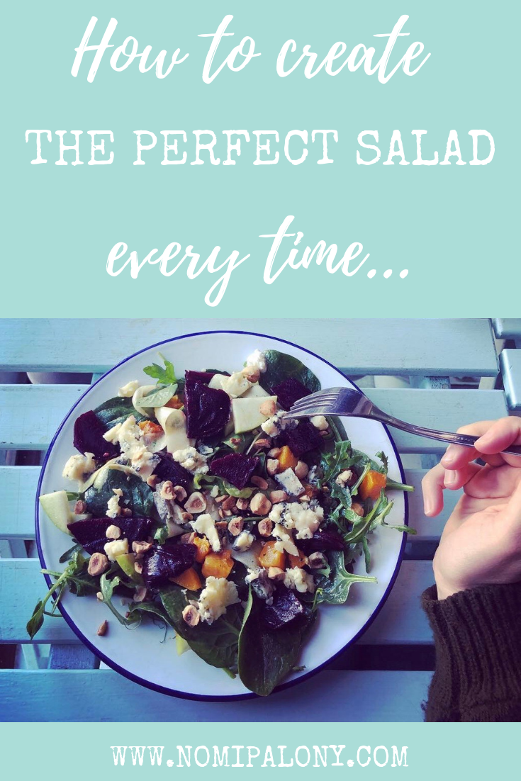 I'm known for making pretty great salads! Here's my tops tips to create the perfect salad every time...