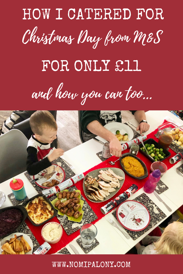How I catered for Christmas Day from M&S for only £11....